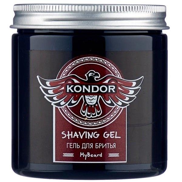KONDOR Гель Shaving Gel для бритья, 250 мл гель для бритья la biosthetique shaving gel 150 мл