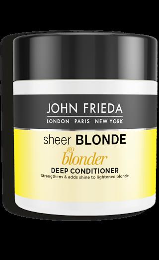 John Frieda Маска для Восстановления Сильно Поврежденных Волос Sheer Blonde, 150 мл