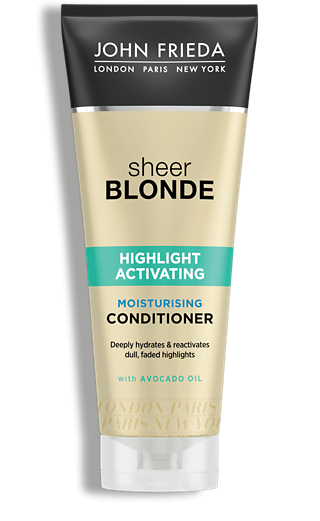 John Frieda Кондиционер Увлажняющий Активирующий для Светлых Волос Sheer Blonde, 250 мл