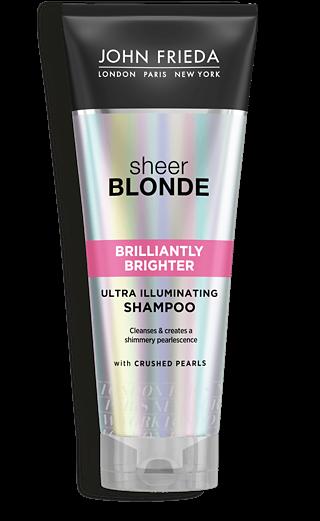 John Frieda Шампунь для Придания Блеска Светлым Волосам Sheer Blonde Brilliantly Brighter, 250 мл
