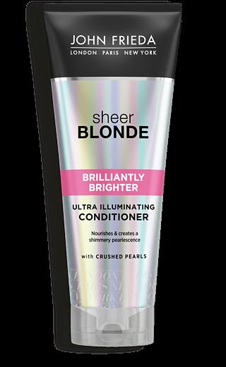 Фото - John Frieda Кондиционер для Придания Блеска Светлым Волосам Sheer Blonde Brilliantly Brighter, 250 мл lace sheer fringe lingerie bra set