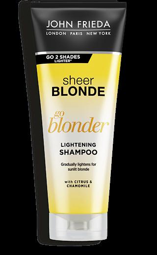 John Frieda Шампунь Осветляющий для Натуральных, Мелированных и Окрашенных Волос Sheer Blonde Go Blonder, 250 мл шампунь дав для окрашенных волос