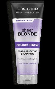 John Frieda Шампунь для Восстановления Осветленных Волос Sheer Blonde Сolour Renew, 250 мл cupless underwire sheer slip babydoll