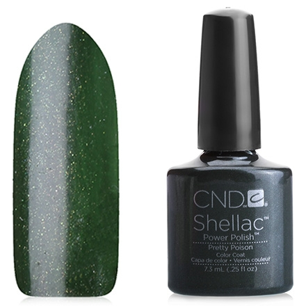 CND Покрытие Shellac # 047 Pretty Poison Гелевое, 7,3 мл