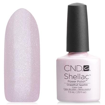 CND Покрытие Shellac # 91969 Grapefruit SparkleГелевое, 7,3 мл