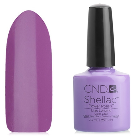 CND Покрытие Shellac # 91989 Lilac Longing Гелевое, 7,3 мл