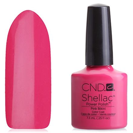 CND Покрытие Shellac Summer Splash # 044 L Pink Bikini Гелевое, 7,3 мл стоимость