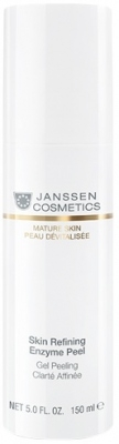 Janssen Гель Skin Refining Enzyme Peel Обновляющий Энзимный, 150 мл aravia professional papaya enzyme peel энзимный пилинг 150 мл