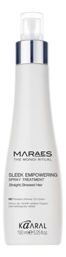Фото - Kaaral Спрей Sleek Empowering Spray Treatment Восстанавливающий Несмываемый для Прямых Поврежденных Волос, 150 мл спрей для волос восстанавливающий mugens zen care ss treatment 500мл
