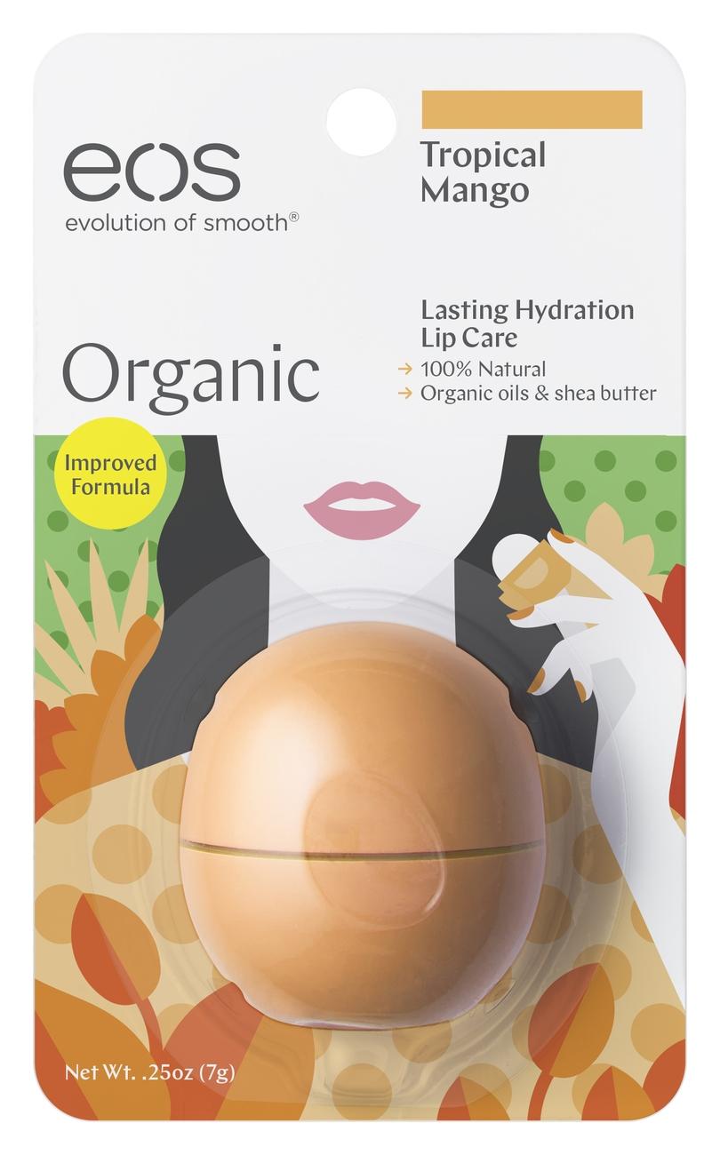 EOS Бальзам для Губ Smooth Sphere Lip Balm Tropical Mango (на Картонной Подложке), 7г недорого