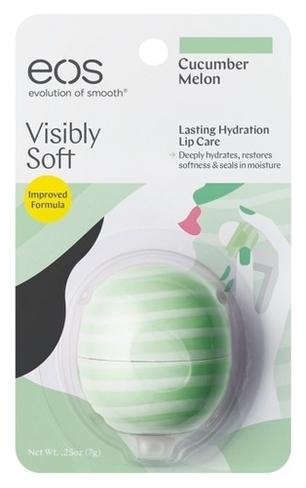 EOS Бальзам для Губ Smooth Sphere Lip Balm Сucumber Melon (на Картонной Подложке), 7г недорого