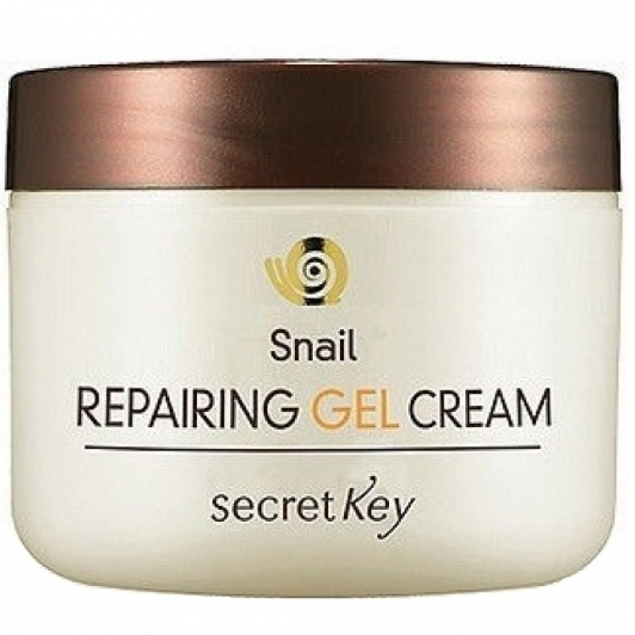 Secret Key Гель Snail Repairing Gel Cream для Лица с Муцином Улитки, 50 мл