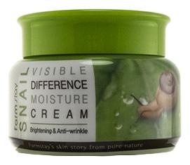 FarmStay Крем для Лица Увлажняющий с Муцином Улитки Snail Visible Difference Moisture Cream, 100г цена