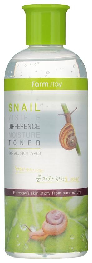 FarmStay Тонер Увлажняющий с Муцином Улитки Snail Visible Difference Moisture Toner, 350 мл