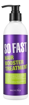 Secret Key Шампунь So Fast Hair Booster Shampoo для Быстрого Роста Волос, 360 мл бальзам для быстрого роста волос so fast hair booster treatment 360мл