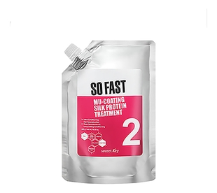 Secret Key Маска So Fast Mu-Coating Silk Protein Treatment для Волос с Эффектом Ламинирования, 480 мл secret key бальзам so fast hair booster treatment для волос 360 мл
