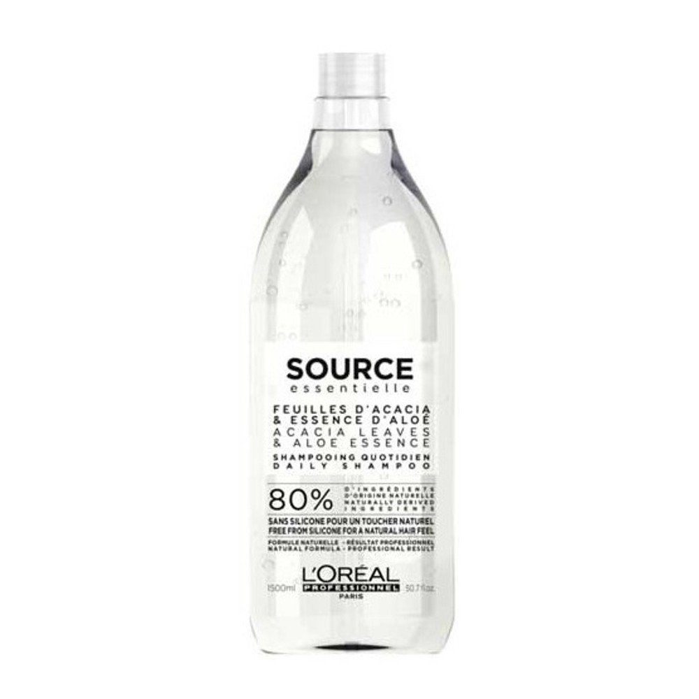 L'Oreal Professionnel Шампунь Source Essentielle Daily Shampoo для Всех Типов Волос, 1500 мл l oreal professionnel пюр ресорс шампунь для жирных волос 1500 мл