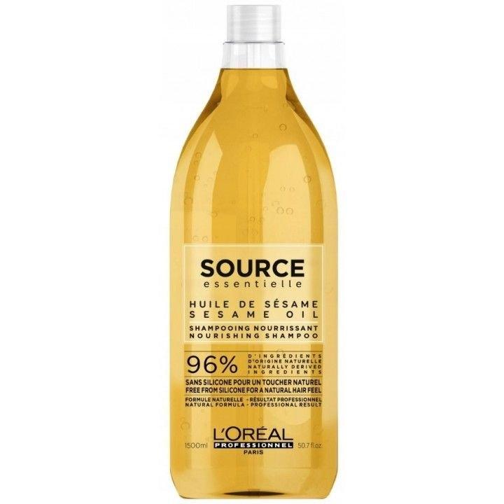LOreal Professionnel Шампунь Source Essentielle Nourishing Shampoo  для Сухих Волос, 1500 мл