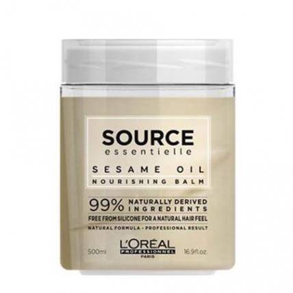 LOreal Professionnel Маска Source Essentielle Radiance Balm для Окрашенных Волос, 450 мл