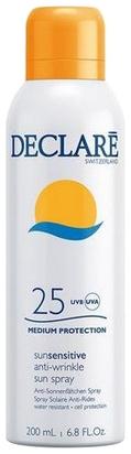Declare Солнцезащитный Спрей SPF 25 с Омолаживающим Действием Anti-Wrinkle Sun Spray SPF 25, 200 мл солнцезащитный спрей с прогрессирующим spf 20 30 50 all in one 200мл thatso pure sun