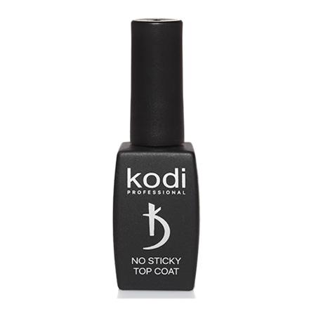Kodi Professional Покрытие Sticky TOP Coat Верхнее для Гель Лака без Липкого Слоя, 12 мл kodi каучуковое верхнее покрытие топ финиш для гель лака rubber top 35 мл