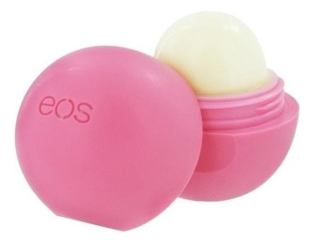 EOS Бальзам для Губ Клубничный Щербет (Strawberry Sorbet), 7гр eos бальзам для губ летние фрукты summer fruit 7гр