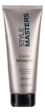 REVLON Гель Style Masters Creator Defining Gel для Контроля и Блеска Волос, 150 мл chi luxury black seed oil curl defining cream gel