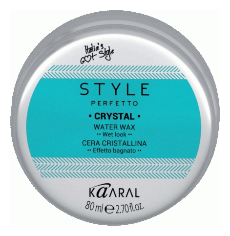 Kaaral Воск для Волос с Блеском Style Perfetto Crystal Water Wax, 80 мл