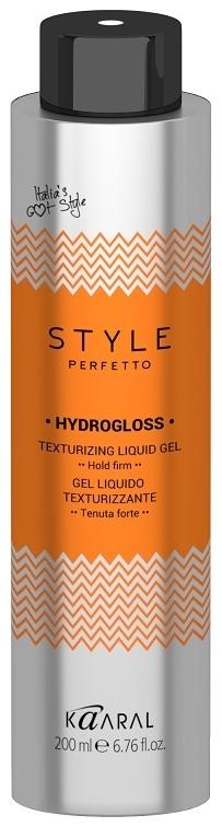 Kaaral Жидкий Гель для Текстурирования Волос Style Perfetto Hydrogloss Texturizing Liquid Gel, 200 мл