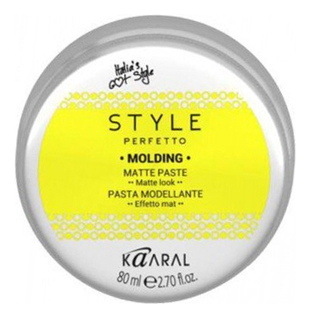 Kaaral Паста Style Perfetto Molding Matte Past Матовая, 80 мл