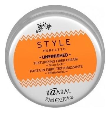 Kaaral Волокнистая Паста для Текстурирования Волос Style Perfetto Unfinished Texturizing Fiber Cream, 80 мл
