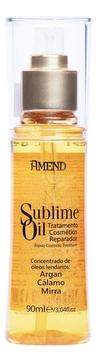 Фото - Amend Масло Sublime Oil Аргановое для Волос с Антиоксидантами и Витаминами, 90 мл аргановое масло all soft 90 мл