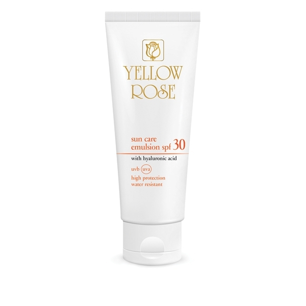 Yellow Rose Эмульсия Sun Care Emulsion SPF30 Солнцезащитная для Тела, 250 мл
