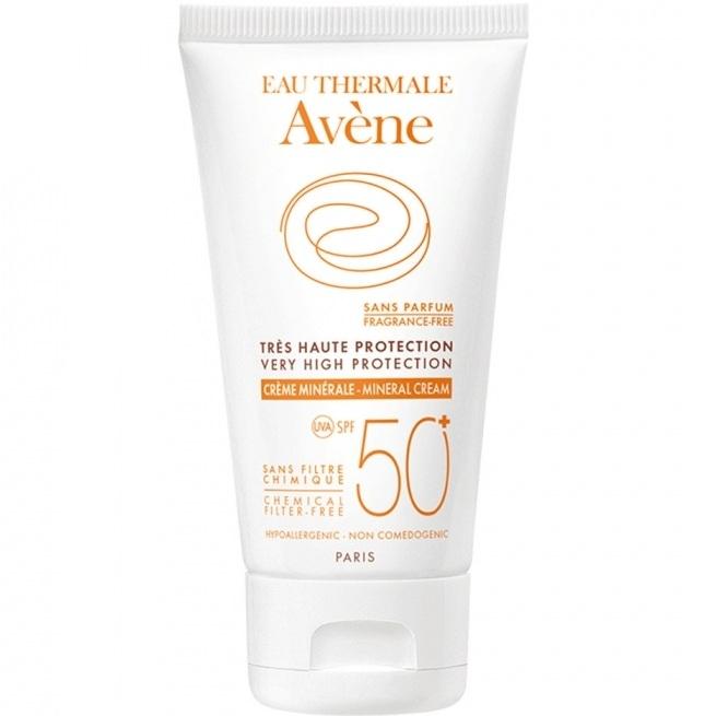 AVENE Лосьон Sun SPF 50 Солнцезащитный с Минеральным Экраном, 100 мл ducray неоптид лосьон от выпадения волос для мужчин 100 мл