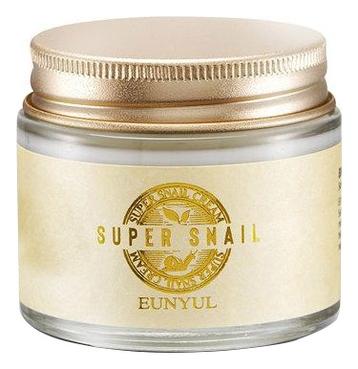 Eunyul Крем с Муцином Улитки Super Snail Cream, 70г крем для рук с муцином nanamus nanamus hand cream snail