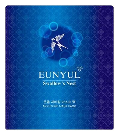 Eunyul Маска Тканевая с Экстрактом Ласточкиного Гнезда Swallow's Nest Mask Pack, 30 мл bergamo маска трехэтапная для лица увлажняющая 3step aqua mask pack 8 мл