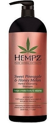HEMPZ Шампунь Sweet Pineapple & Honey Melon Volumising Shampoo Растительный Ананас и Медовая Дыня для Придания Объёма, 1000 мл