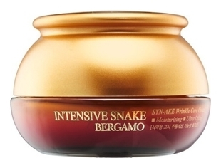Bergamo Крем с Петидом syn-ake Антивозрастной Snake Syn-ake Wrinkle Care Cream, 50г syn ake anti wrinkle