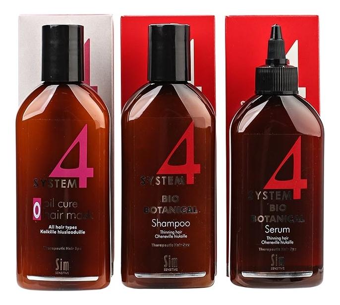 цена на Sim Sensitive Комплекс От Выпадения Волос System 4, (3шт по 215 мл)