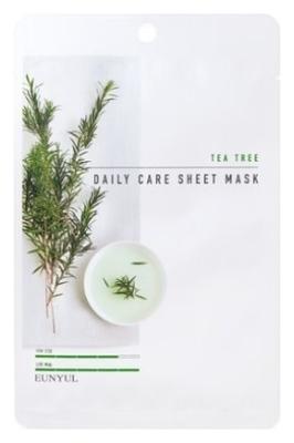 Eunyul Маска Tea Tree Daily Care Sheet Mask Тканевая для Лица с Экстрактом Чайного Дерева, 22г недорого