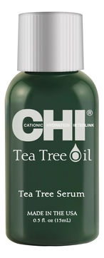 Фото - CHI Сыворотка Tee Tree Oil с Маслом Чайного Дерева, 15 мл гель смазка sico tea tree oil с маслом чайного дерева 100 мл