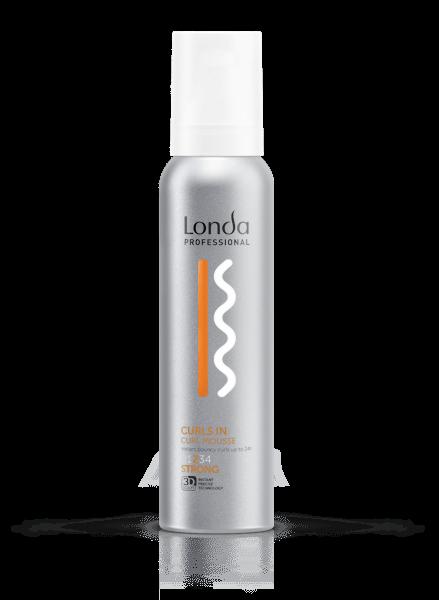 LONDA Мусс Texture Curls In для Кудрявых Волос Сильной Фиксации, 150 мл