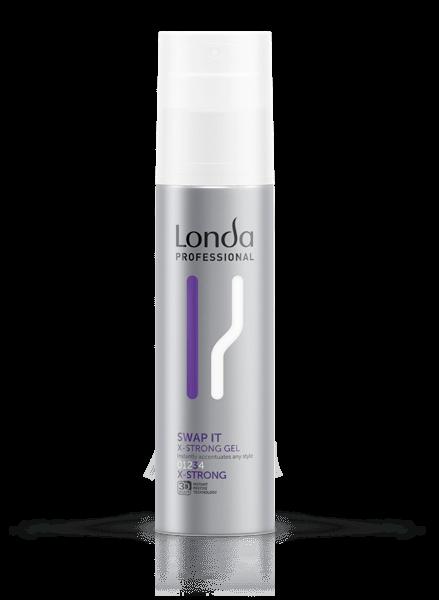 LONDA Гель Texture Swap It для Укладки Волос Экстрасильной Фиксации, 100 мл