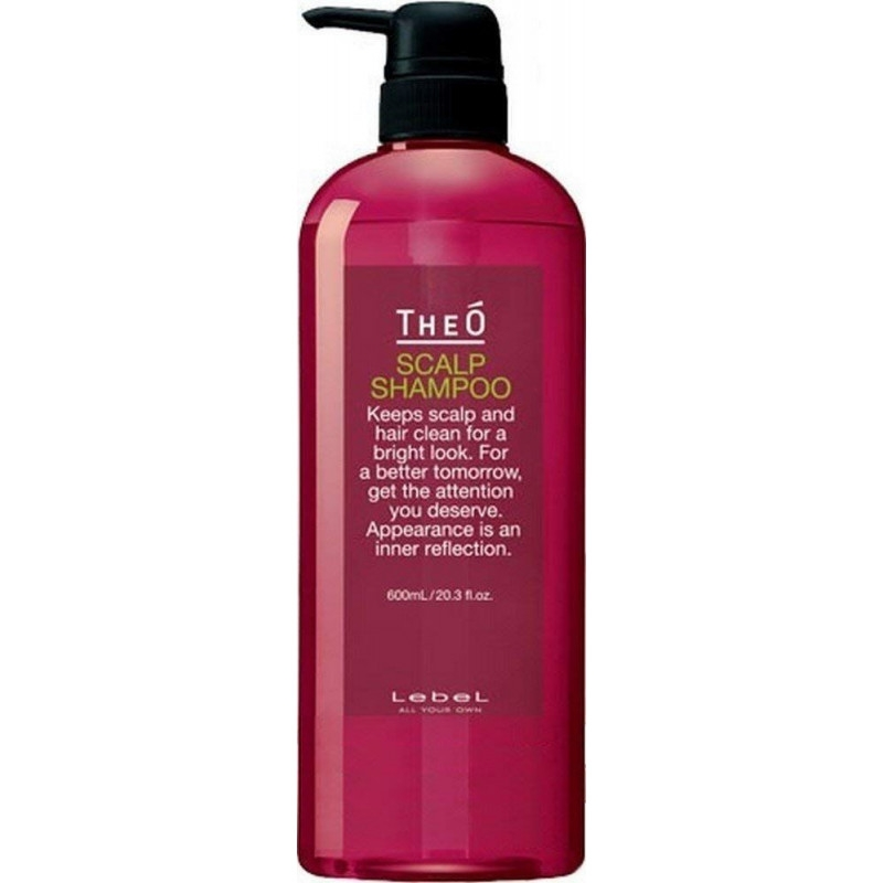 Lebel Cosmetics Шампунь Theo Scalp Shampoo, 600 мл