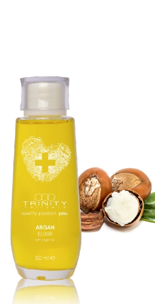 Trinity Hair Care Эликсир Аргановый Therapies Argan Oil Elixir, 50 мл