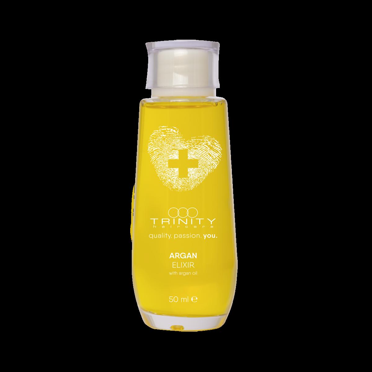 Trinity Hair Care Эликсир Therapies Argan Oil Elixir Аргановый, 50 мл эликсир для волос beauty elixir for your hair эликсир 50мл