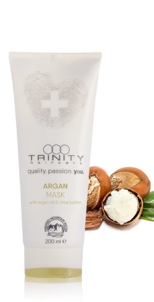 "Trinity Hair Care Маска Аргановая Therapies Argan Oil Mask, 200 мл маска линии ""argan perfect care"" хонма токио 300 гр"