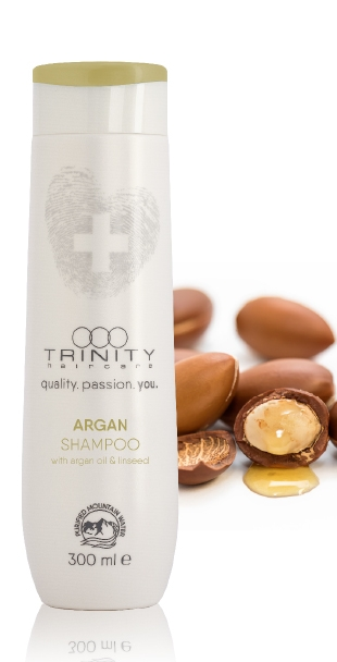 Trinity Hair Care Шампунь Аргановый Therapies Argan Oil Shampoo, 1000 мл