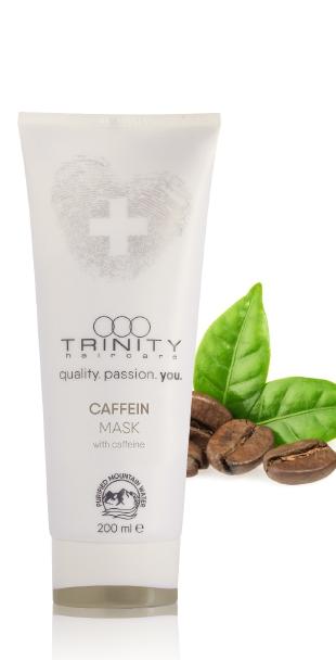 Trinity Hair Care Маска для Укрепления и Против Выпадения с Кофеином Therapies Caffein Mask, 200 мл