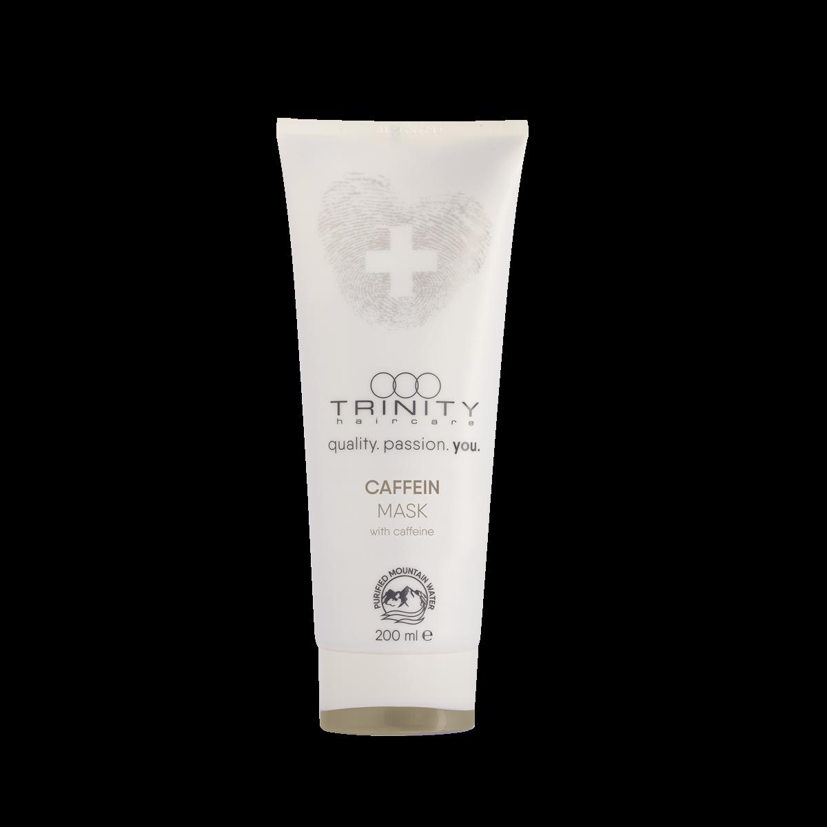 Фото - Trinity Hair Care Маска Therapies Caffein Mask для Укрепления и Против Выпадения с Кофеином, 200 мл trinity hair care маска essentials summer mask с уф фильтром 200 мл